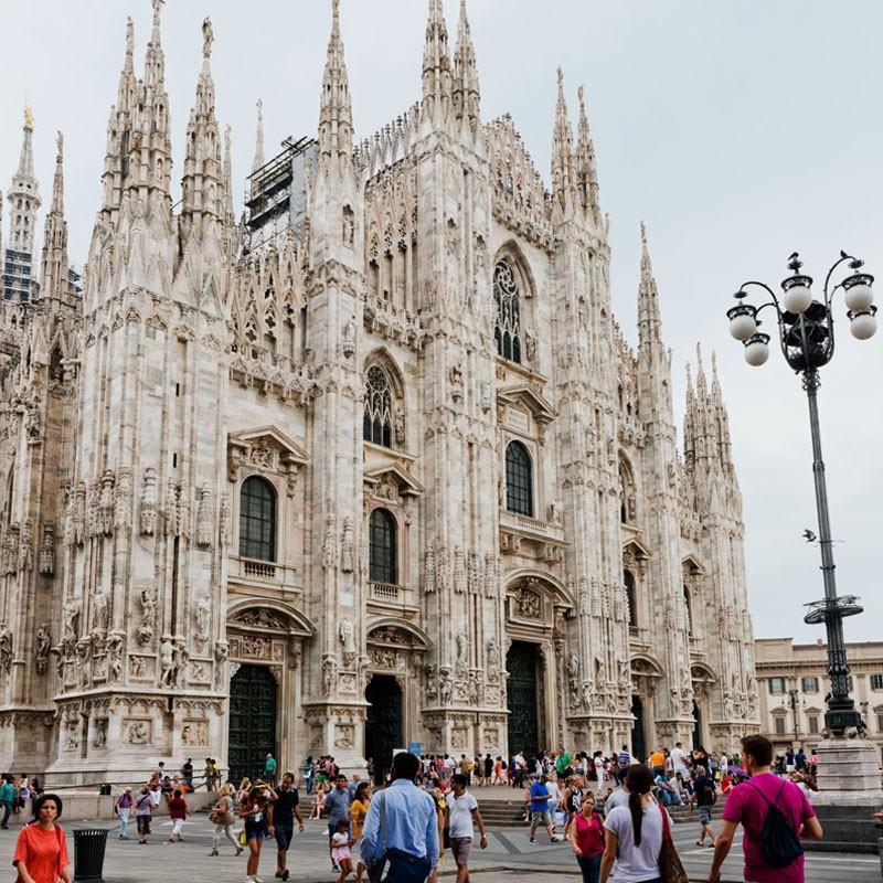 Temperatura en Milán durante todo el año